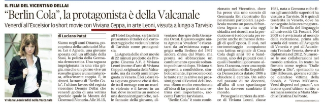Berlin Cola_30-08-2017Messaggero Veneto
